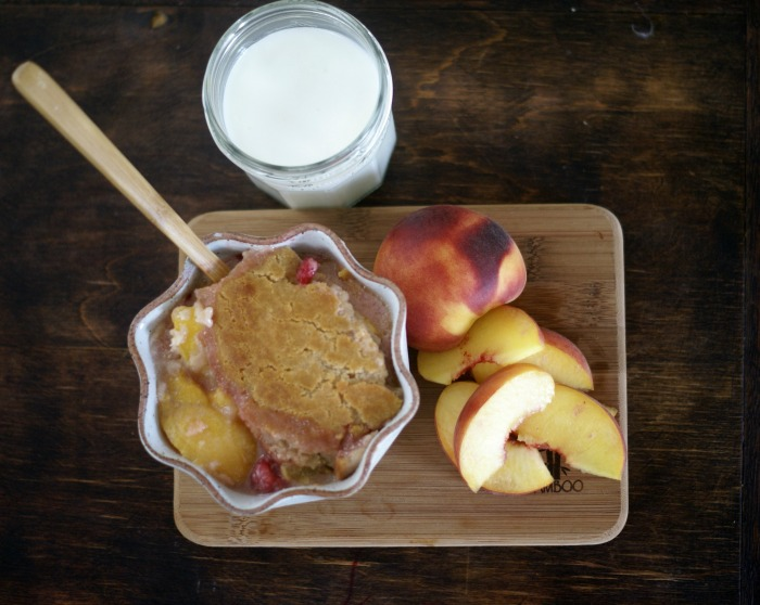Gluten-Free Peach Berry Cobbler Recipe