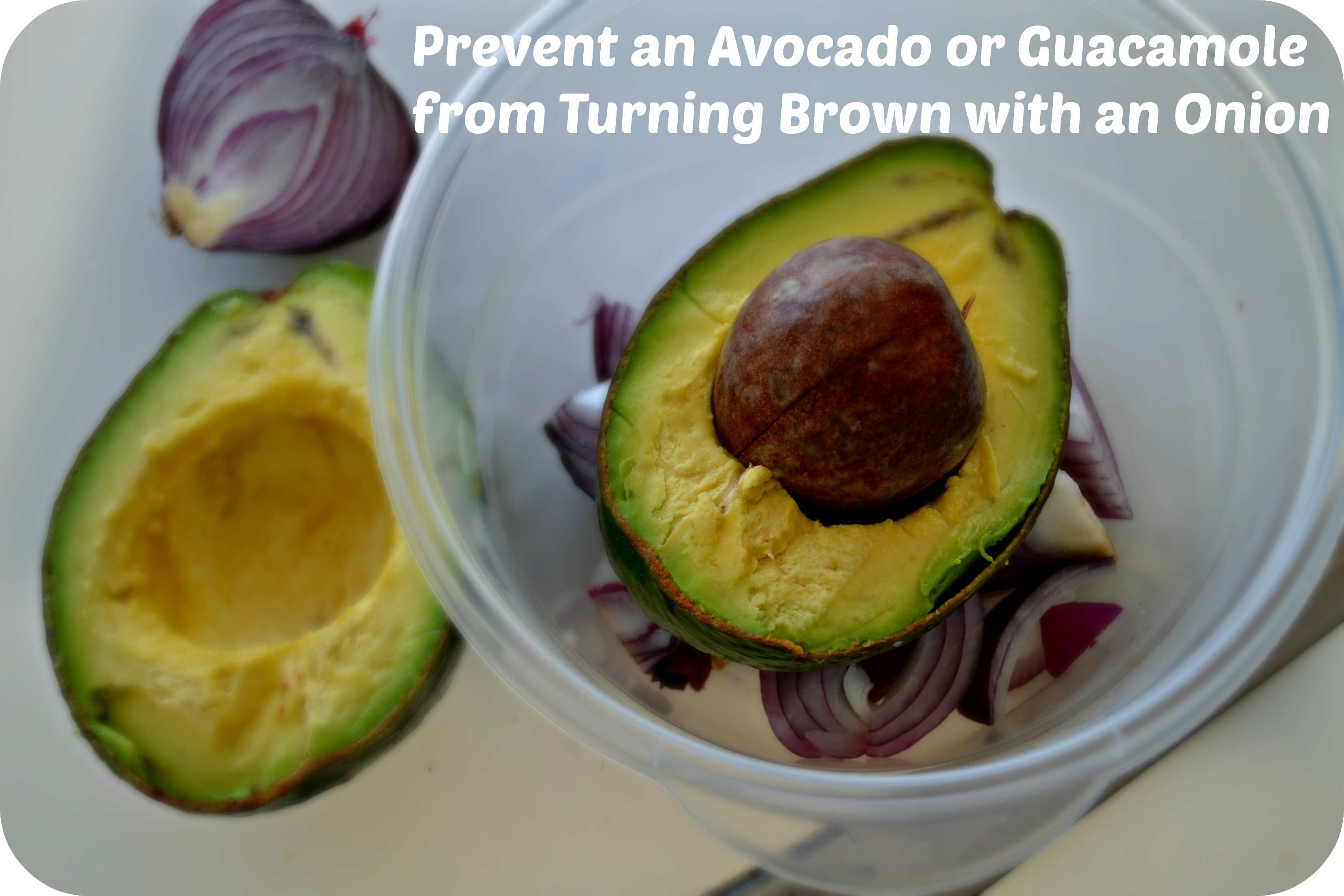 Prevent an Avocado From Turning Brown