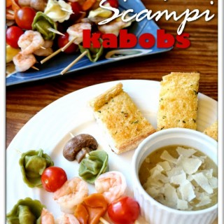 Shrimp Scampi Kabobs: A Great Holiday Appetizer!