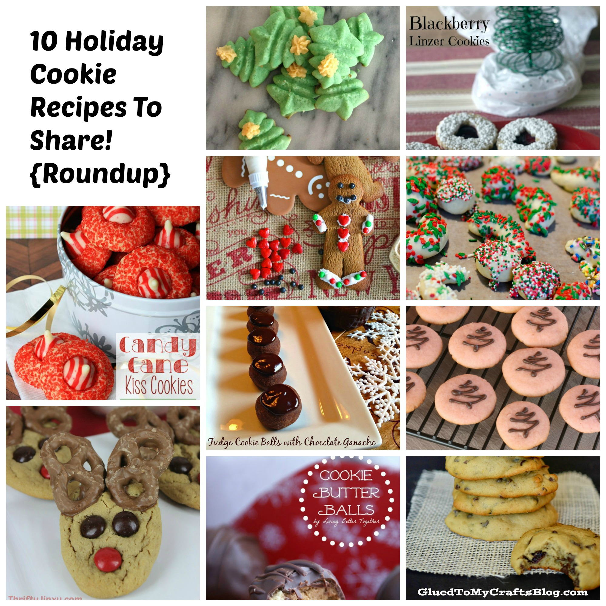 Holiday Cookie Recipe Roundup