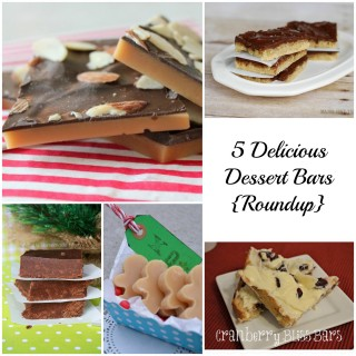 Ring in the New Year with Delicious Dessert Bars {Roundup}