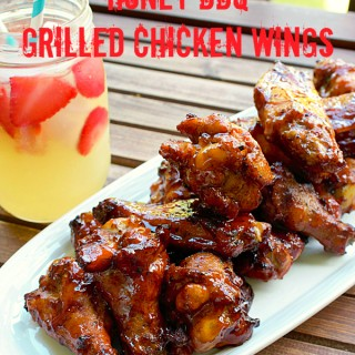 Ad: Honey BBQ Grilled Chicken Wings