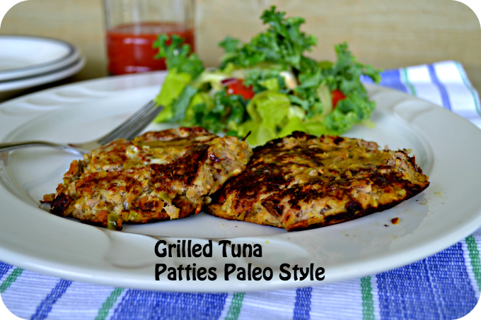 Grilled Tuna Patties Paleo Style