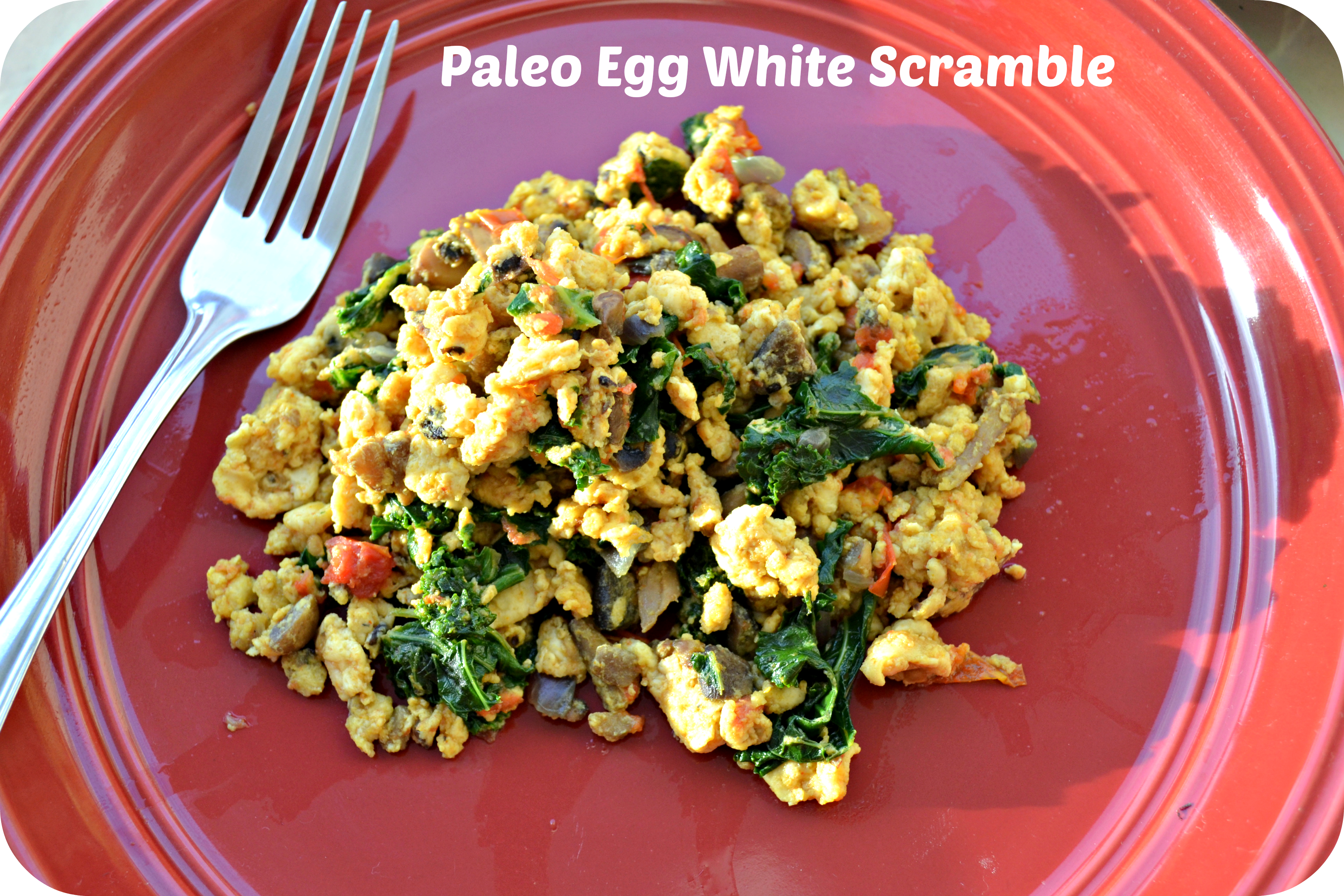 Paleo Egg White Scramble