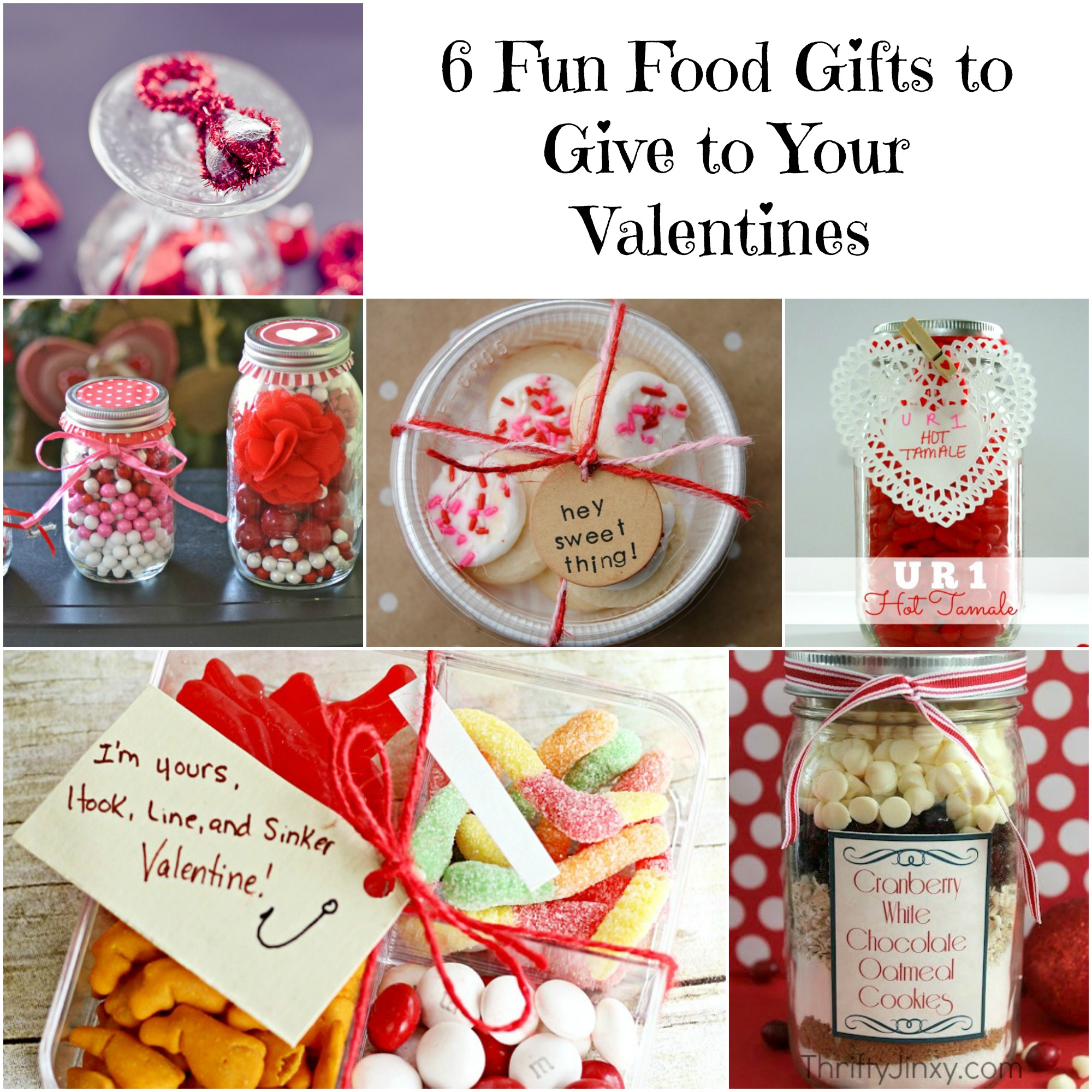 6 Fun Food Gifts for Valentine\'s Day