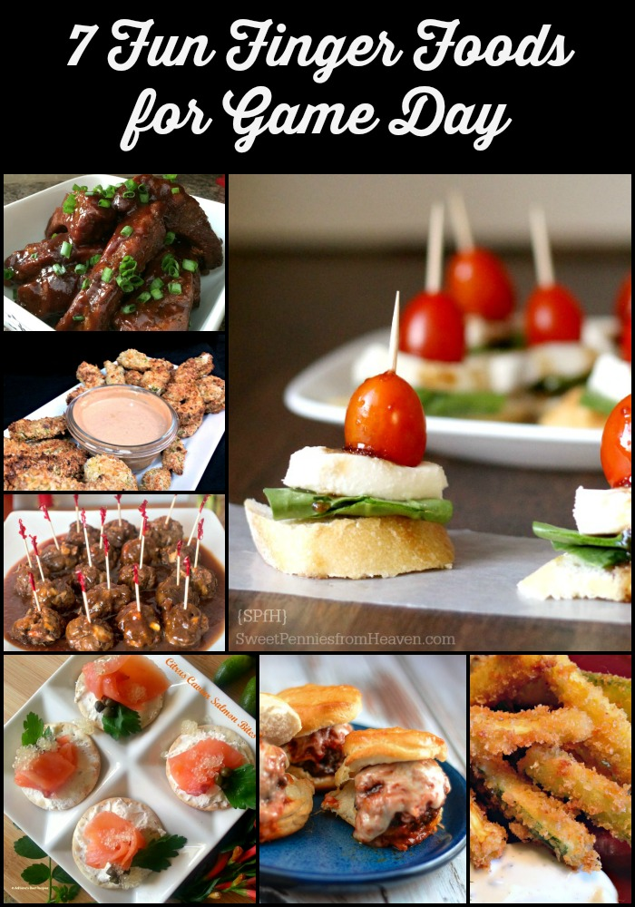 game day appetizers, appetizers, finger foods