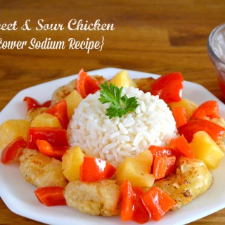 Ditch the pricey Chinese takeout and opt for this Healthy Homemade Sweet Sour Chicken recipe. This 30-minute meal boasts fresh, homemade flavors with a refined sugar free sweet and sour sauce. The low-sodium fried chicken with fresh veggies makes the meal complete!