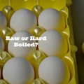 How To Tell If an Egg is Raw or Hard Boiled