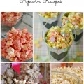 Valentine's Day popcorn, popcorn recipes, candied popcorn