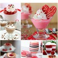Valentine's Day desserts, festive desserts for Valentine's Day, dessert recipes, red desserts