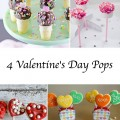 Valentine's Day desserts, cake pops, cookie pops, marshmallow pops