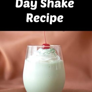 St. Patrick's Day Shake Recipe