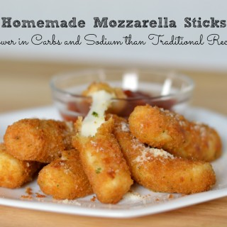 Homemade Mozzarella Sticks: A Healthier Recipe