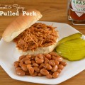Sweet & Spicy Pulled Pork: A Low Sodium Recipe #SoFab