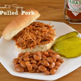 Sweet and Spicy Pulled Pork: A Low Sodium Recipe