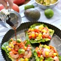 Tropical Shrimp Lettuce Wraps #MyPicknSave #SoFab #ad