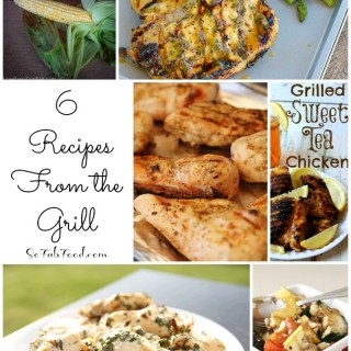 A Full Meal Cooked on the Grill: 6 Recipes