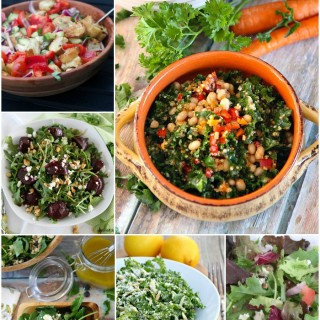 Healthy and Fresh Seasonal Salads