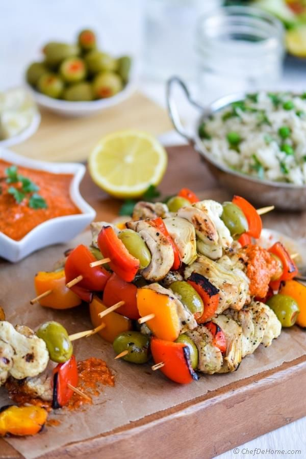 Welcome the beautiful, warmer weather with dinner outside when you make any one of these five Kabob Recipes perfect for the grill. These easy-to-make recipes are the perfect way to enjoy a meal with family and friends.