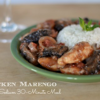 Chicken Marengo: A Low Sodium 30-Minute Meal