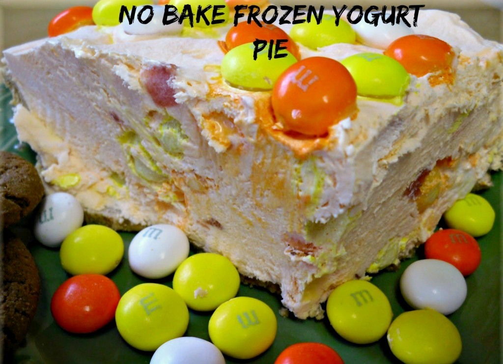 Frozen Yogurt Pie: A no bake dessert with probiotics