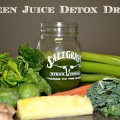 Green Juice Detox Drink Recipe #SoFabFood