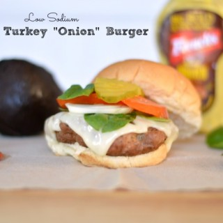 Low Sodium Grilled Onion Burger Recipe