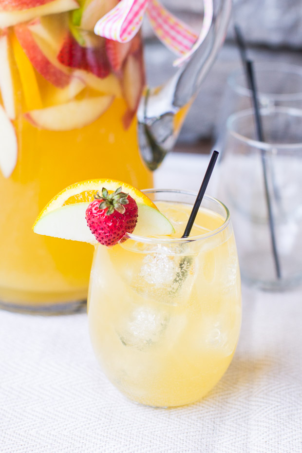 Passion Fruit and Pineapple Sangria