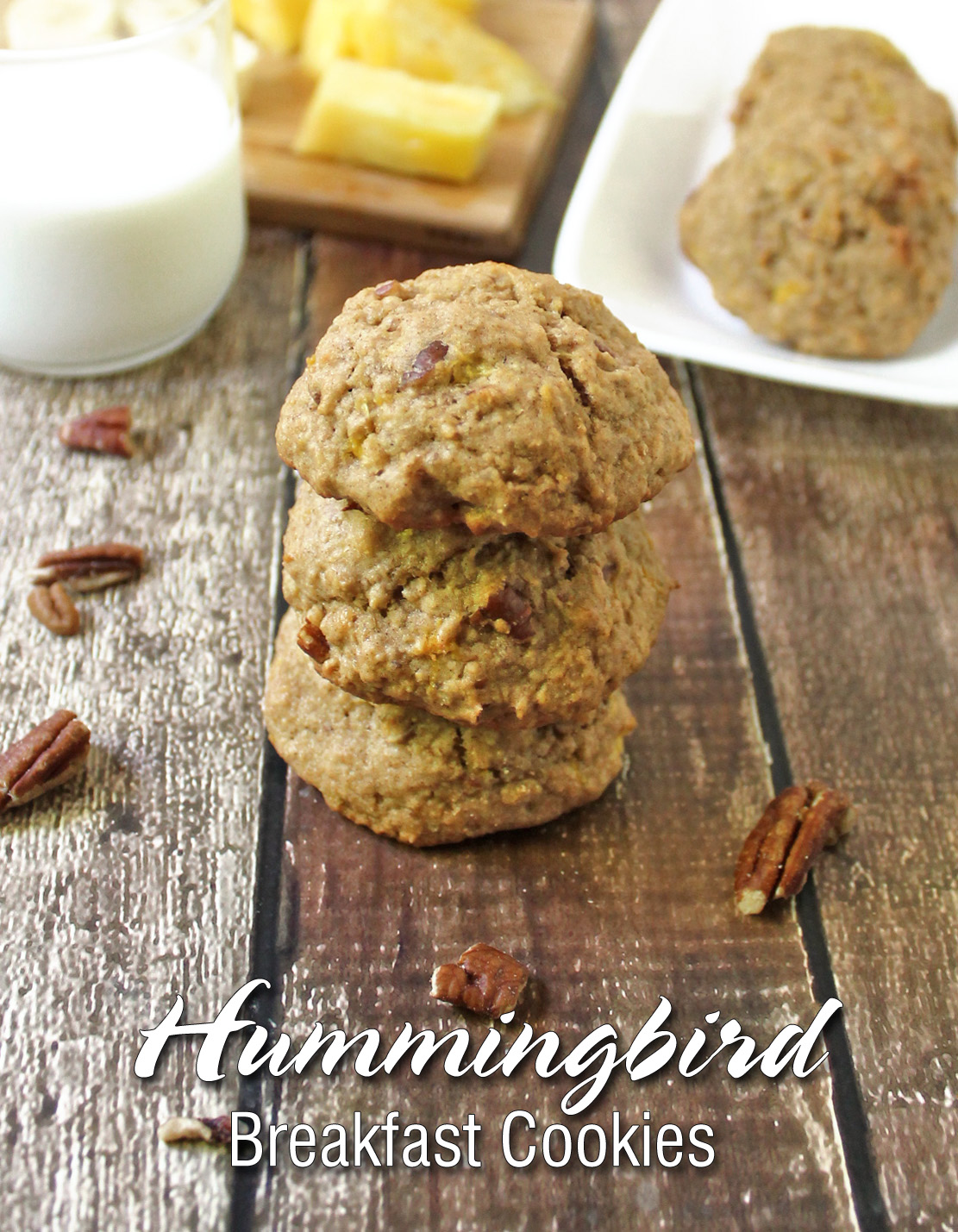 The Best Gluten Free Hummingbird Breakfast Cookies