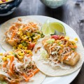 Easy Fish Tacos with Corn Salsa