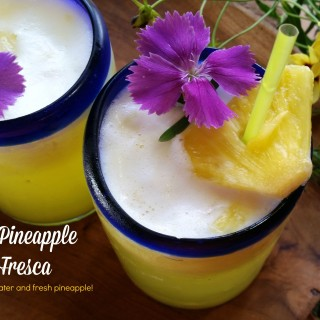 Coconut Pineapple Agua Fresca