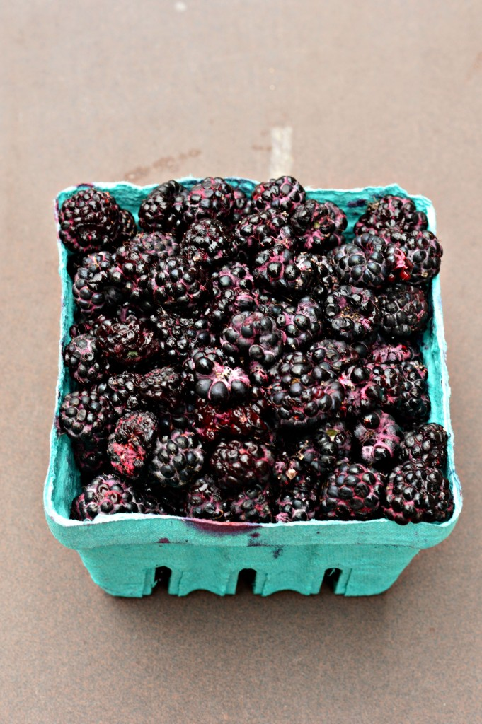 Fresh Black Raspberries make delicious refrigerator jam