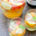 What better way to celebrate springtime than with friends and a pitcher of these Fruity Sangria Recipes? These non-traditional wine punch recipes include a variety of fruits, liqueurs, and mix-ins.