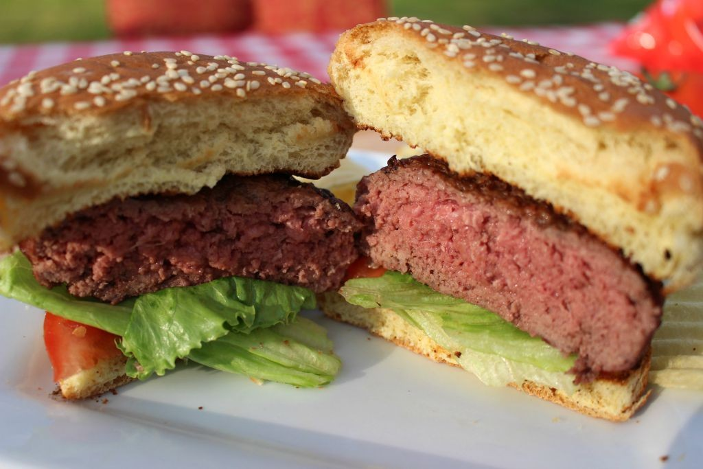 Burger Grilling: Learn how to grill perfect hamburgers with the 5-6-7 Grilled Burger Method. These foolproof tips for buying, mixing, shaping, and grilling your backyard burgers are fool proof.