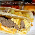 Make Ahead Sausage, Egg, and Potato Breakfast Tacos for successful mornings