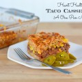 One Pan Heart Healthy Taco Casserole Recipe