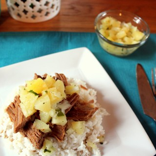 Slow Cooker Pineapple Teriyaki Pork