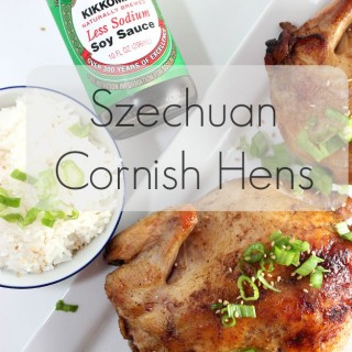 Ad: Grilled Szechuan Cornish Game Hens