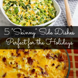 5 Skinny Side Dishes Perfect for the Holidays