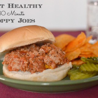 30-Minute Heart Healthy Sloppy Joes