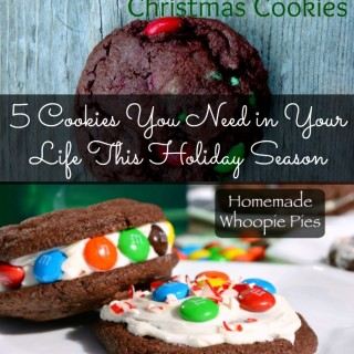 5 Holiday Cookies You Need in Your Life