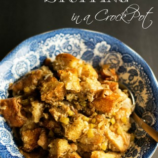 How to Make Stuffing in a Crock Pot