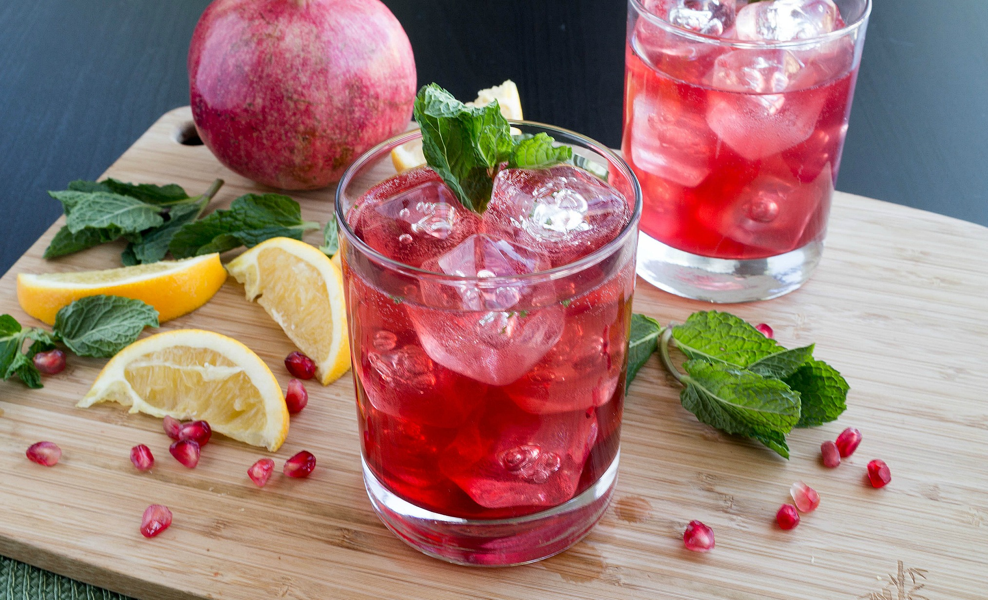 Pomegranate Maple Whiskey Smash-4