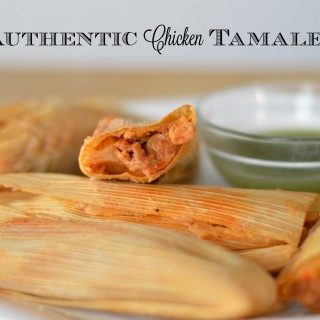 Homemade Authentic Chicken Tamales