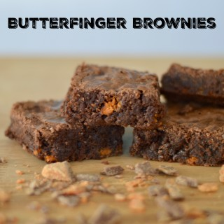 Decadent Butterfinger Brownies Recipe