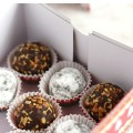 Raw Chocolate Cranberry Truffles are the perfect little homemade treat to gift for the holidays!