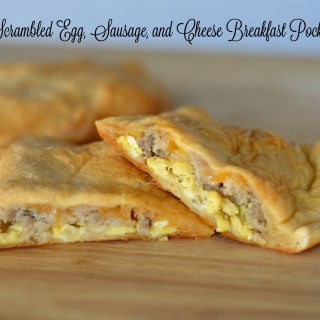 Make-Ahead Scrambled Egg Breakfast Pockets