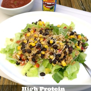 High Protein, High Fiber Southwest Salad