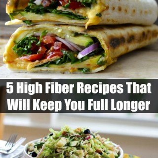 5 High Fiber Recipes That Will Keep You Full Longer