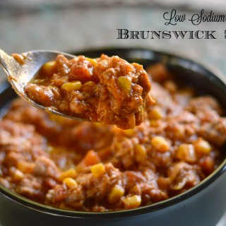 Heart Healthy, Southern-Style Brunswick Stew